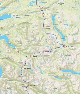 Carte Trollheimen